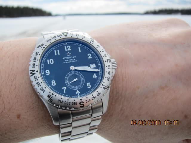 Ma montre Eterna 1585rom