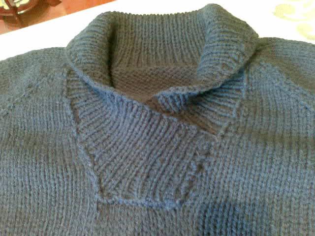 hombre - patron sweater cuello cruzado de hombre 20rskn6