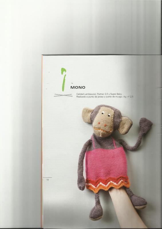 agujas - patrones muñecos de lana a dos agujas 243mauh