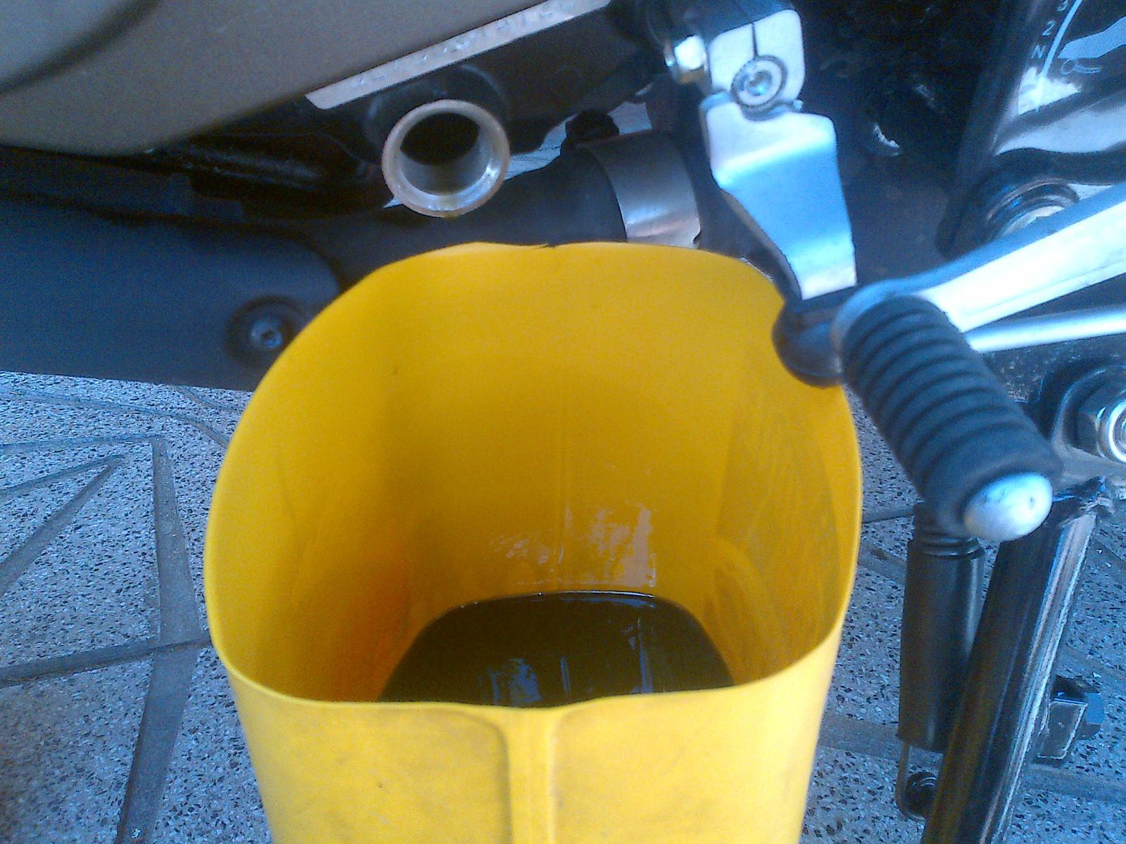 Primer cambio de aceite y filtro 2cehmck