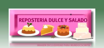 REPOSTERIA DULCE Y SALADO
