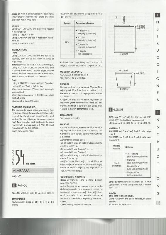 Alabama - PATRON SUETER REVISTA KATIA CASUAL 73 MODELO ALABAMA 2i8jcdh