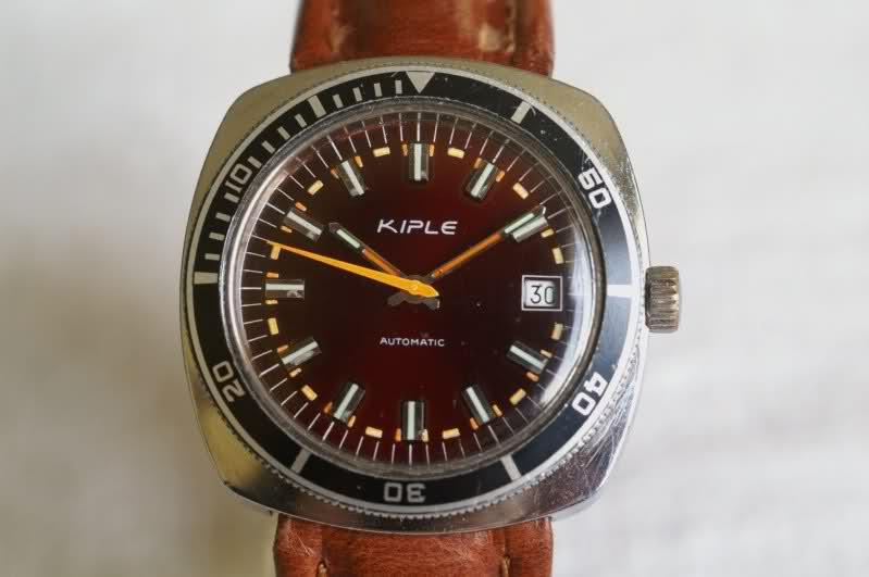 Kiplé montres vintage françaises dans l'ombre des Lip et Yema 2ia8zm1