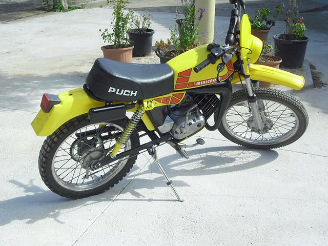 puch - Puch Minicross TT 1ª Serie * Josepe 2ilbsat