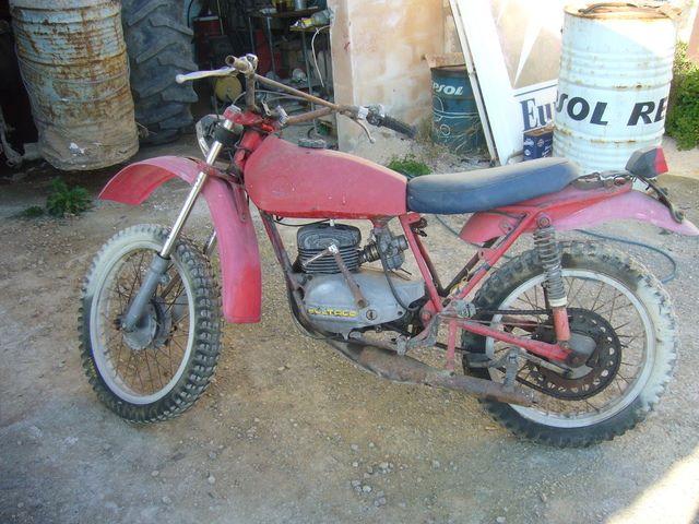 ¿De que moto es este depósito? 2n00lma