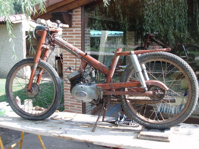 Restauración Rieju P3 1964 2n1hp4m