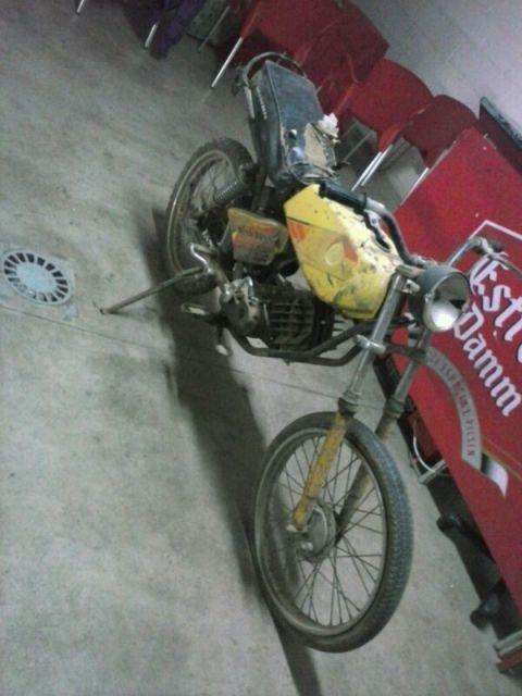 Puch Minicross salvada de la chatarra 2q8zog1