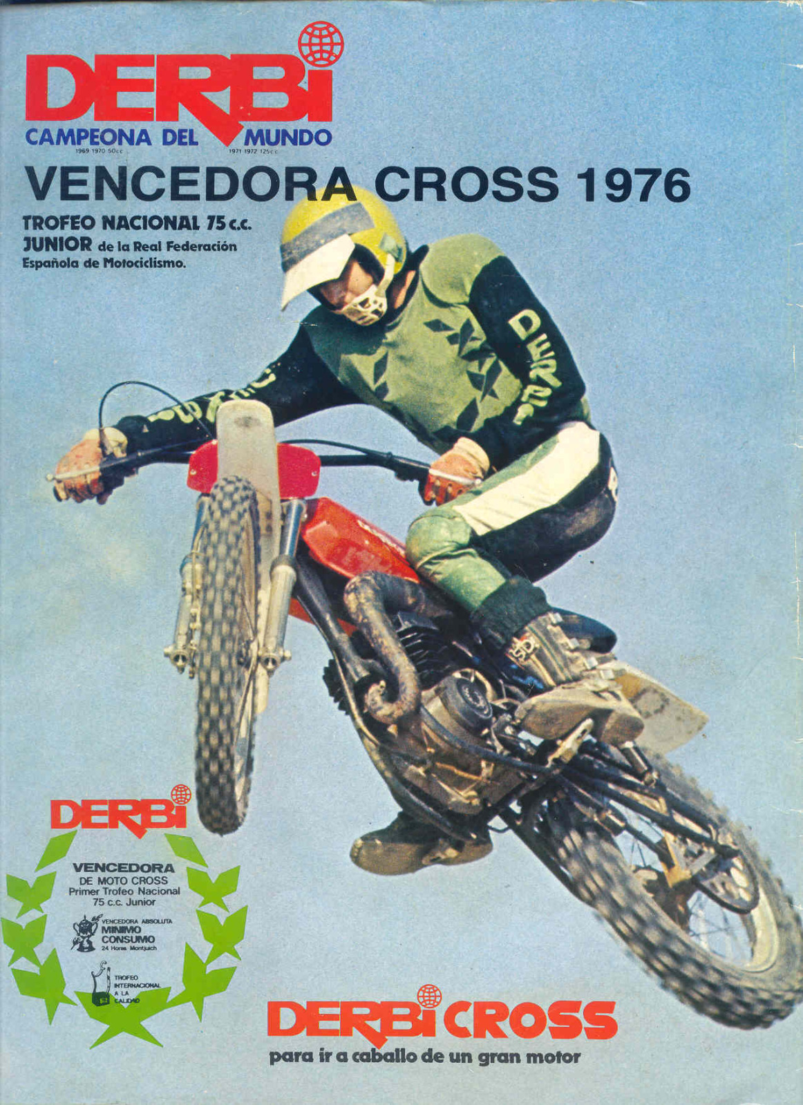 Proyecto Derbi Cross Trofeo Junior 1975/76 2upfwux