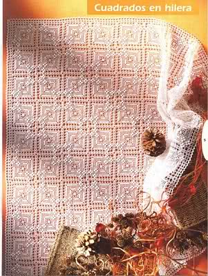 CROCHET - Varios patrones para realizar UN MANTEL a crochet 2v0yjus