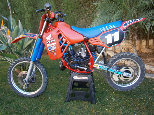 Motos TT y Cross de 80 cc 2vns175