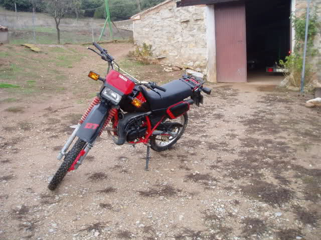 Mi Yamaha DT 80 2zs6uch