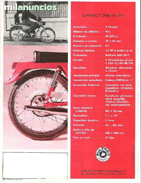Bultaco 49 y 49 GT de carretera 3145kxc