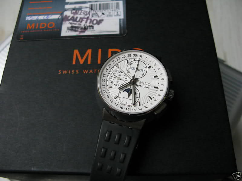 Mido - Mido All Dial Moonphase Chronograph 3306zpx