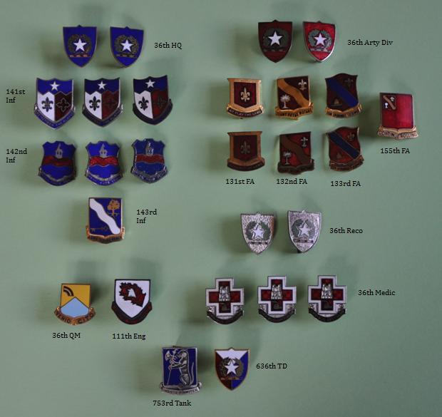 Crests et insignes us ww2  34njw9i