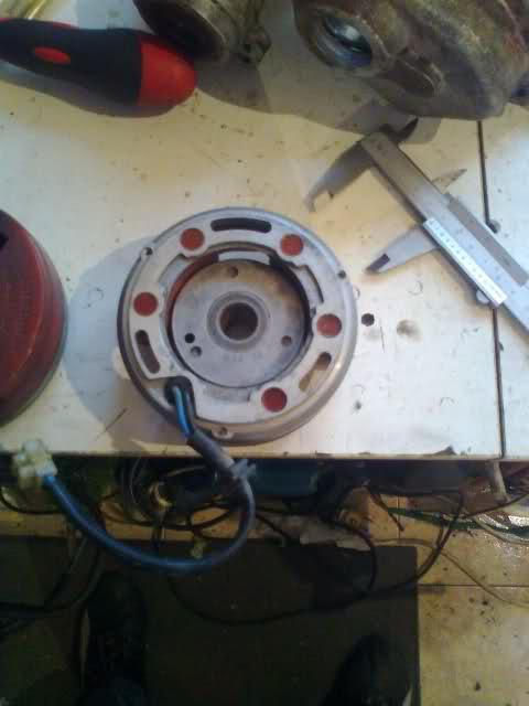 ¿Adaptación rotor interior a ciclomotor? Ay4yo3