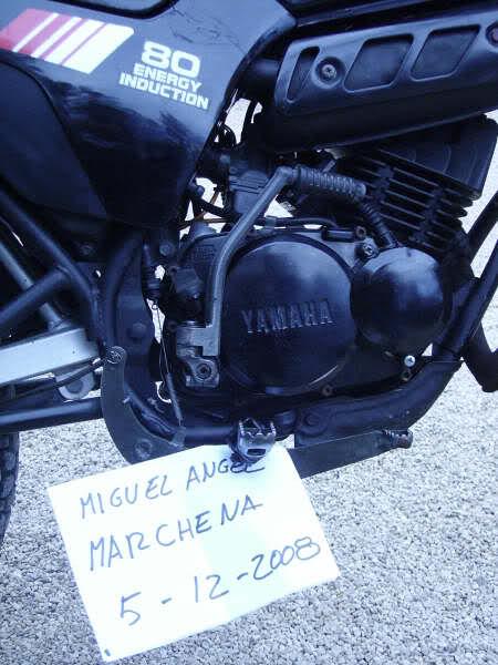 Yamaha DT 80. Dllxti