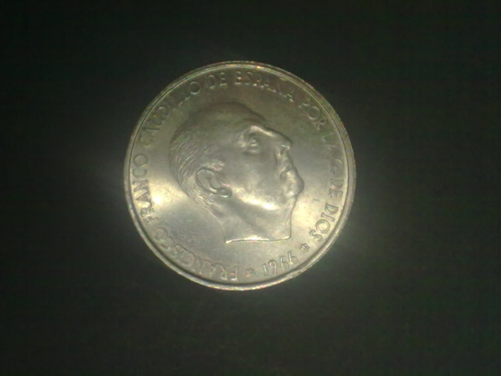 100 Pesetas 1966 (19-69). Francisco Franco. ¿Estrella retocada? Dx0gnd