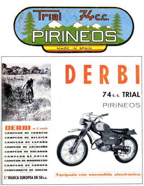 Información Derbi Pirineos Fxb42a