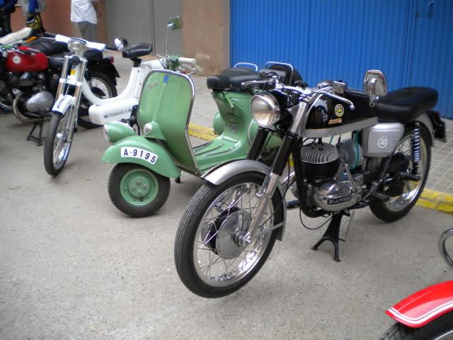 Concentracion 1 motos clasicas en Valencia Idhqas