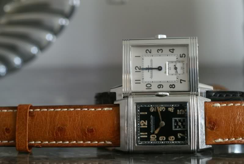 Jaeger - Girard-Perregaux Vintage 1945 ou Jaeger-LeCoultre Reverso Classique Iqh45g