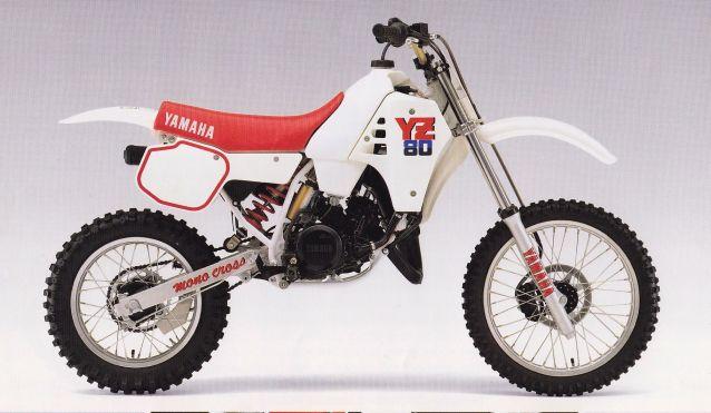 Motos TT y Cross de 80 cc J17fys