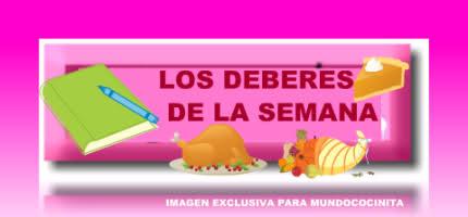 LOS DEBERES DE LA SEMANA CHEF 2000 TI