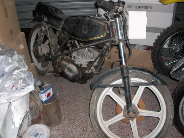 Restauración Bultaco Streaker R8y1kw