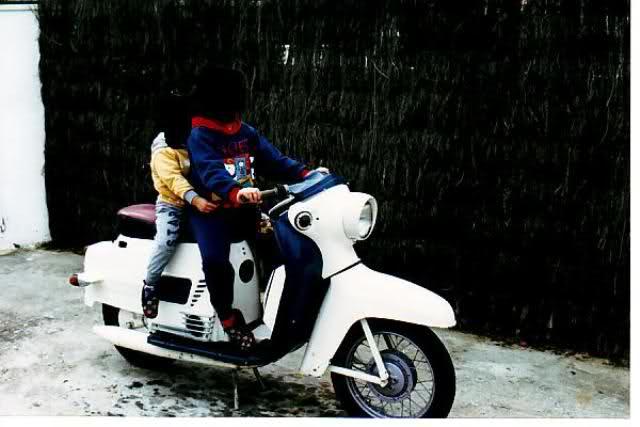 Mi nueva Scooter Manet 125 T5luea