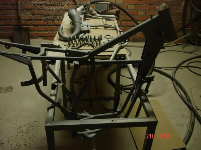 Restauración Rieju MR-80 Pata Negra Utuyq