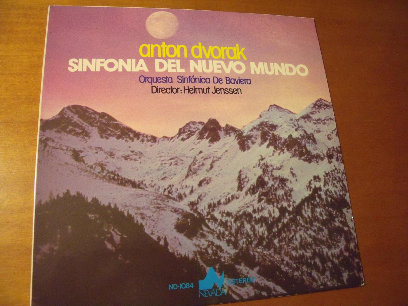 """DVORAK SINFONÍA Nº 9 """"DEL NUEVO MUNDO"""" Vyuu80"""