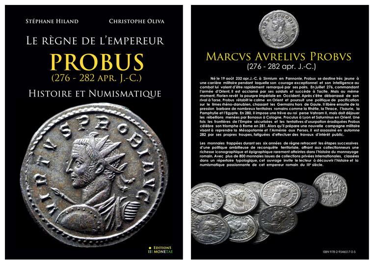 Livre : Le règne de l'Empereur PROBUS - Hiland/Oliva Xfbz42