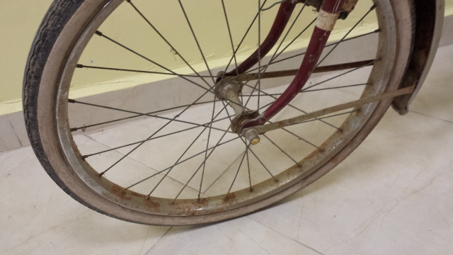 Restauración total de una bicicleta G.A.C. Zvotbm