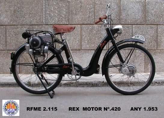 Ciclomotor Rex 118146u