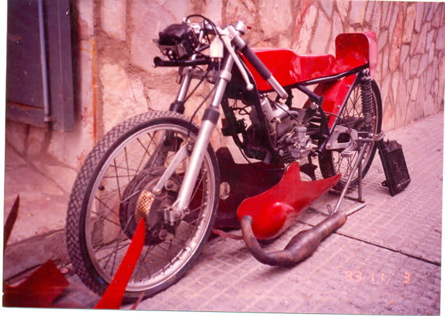 Derbi RAN subida a 80 cc 119qxhd