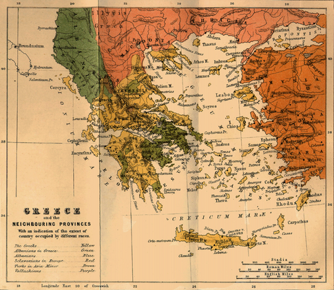 Why do we call it Greece while it's Albanian land? 120qdrc