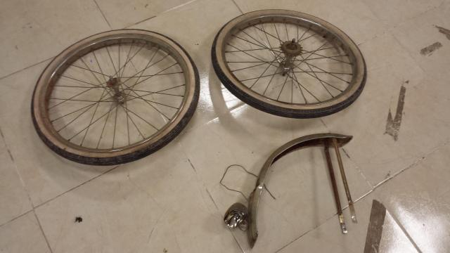 Restauración total de una bicicleta G.A.C. 153qu4y