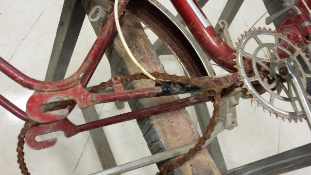 Restauración total de una bicicleta G.A.C. 156sc1s