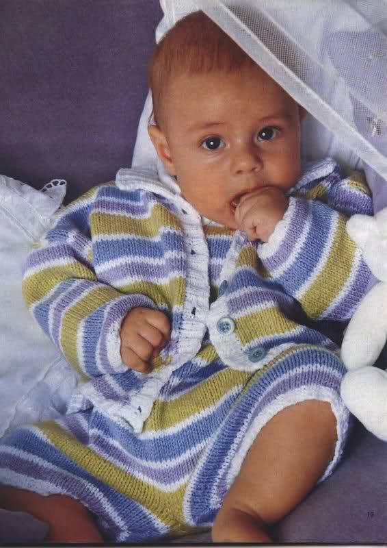chaquetitas bebe - Patrones para realizar chaquetitas de bebés (Matilde) 16h1dmh