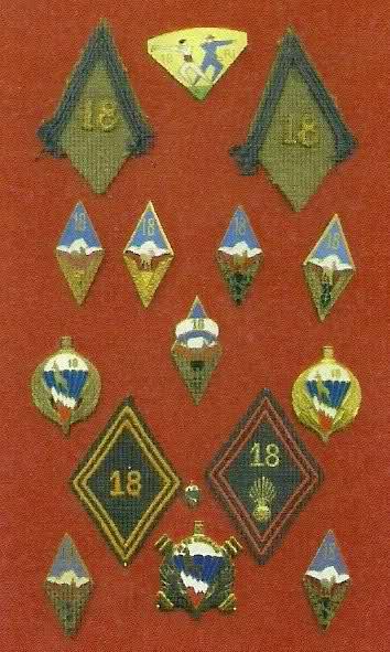 Insignes du 18 1qg37k
