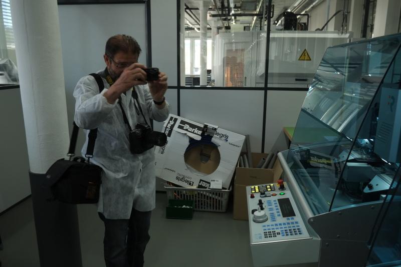 Compte rendu de la visite de la manufacture Zénith  1zcg26g
