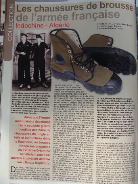 Chaussures de brousse françaises 21cx9vt