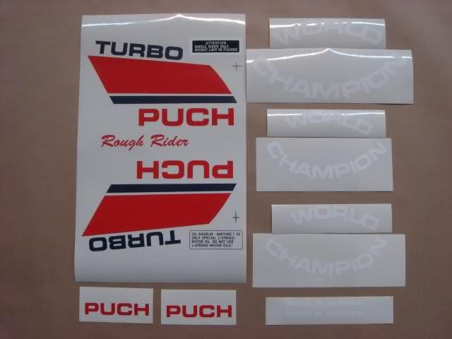 Adhesivos Puch Magnum X 246kmkl