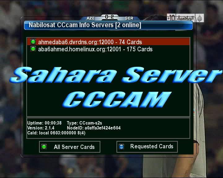 6 بالمجان سيرفر الصحراء Sahara Server CCcam - صفحة 2 24zvjba