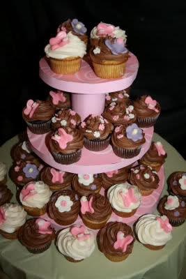 Como elaborar base para exhibir Cupcakes 25a3u6d