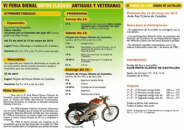 VI Feria Bienal De Motos Clásicas, Antiguas Y Veteranas 27ynaiv