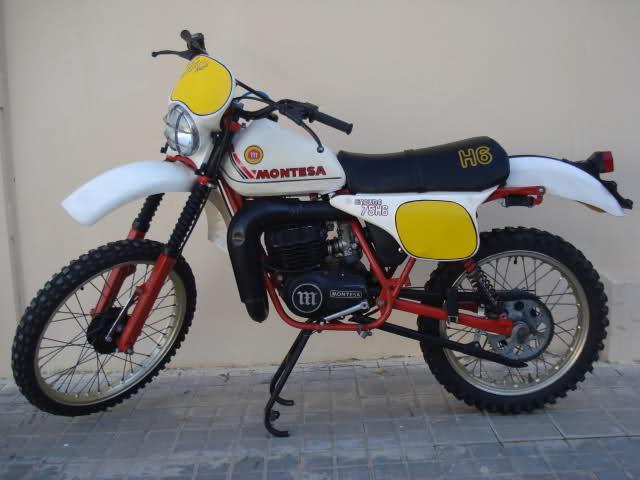 Montesa Enduro 75 H6 '81 Blanca, muy cuidada  29zy21