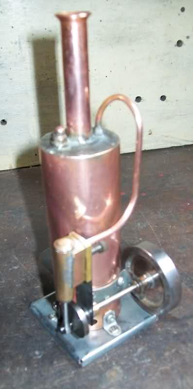 Motor a vapor oscilante de caldera vertical 2ch54c7