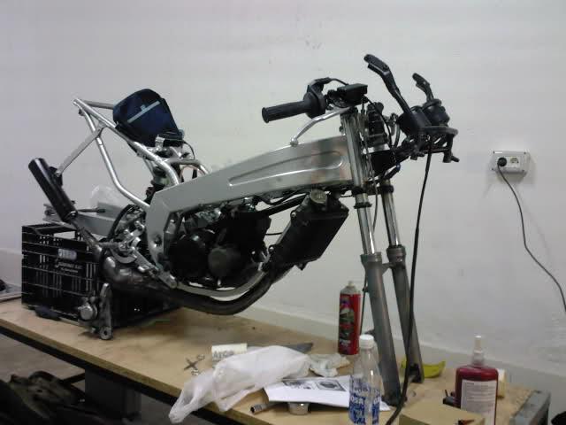 Evolución Yamaha Tzr 80 Deltabox Circuito 2ilbywg