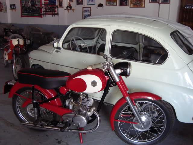 Derbi Cross 125 - 1959 * Rafbultaco 2l8c03q