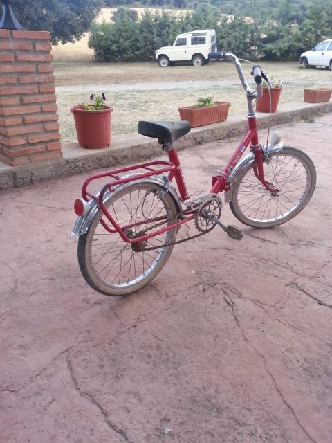 Bicicleta BH y Terrot 2ptyliv